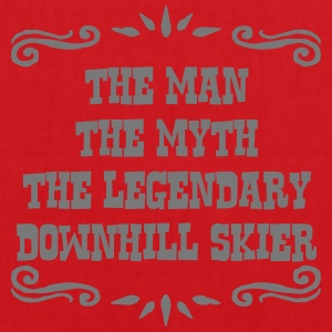 freestyle skier the man myth legendary l premium h - Tote Bag