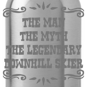 freestyle skier the man myth legendary l premium h - Water Bottle
