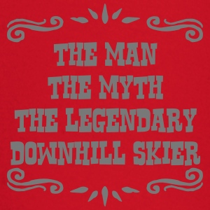 freestyle skier the man myth legendary l premium h - Baby Long Sleeve T-Shirt
