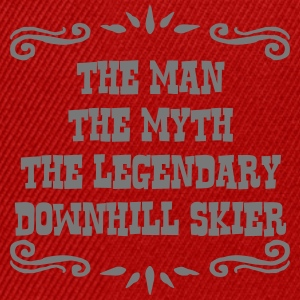 freestyle skier the man myth legendary l premium h - Snapback Cap