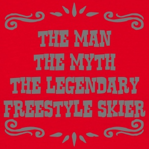 heliskier the man myth legendary legend premium ho - Men's T-Shirt
