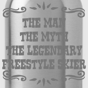 heliskier the man myth legendary legend premium ho - Water Bottle