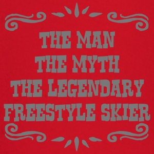 heliskier the man myth legendary legend premium ho - Baby Long Sleeve T-Shirt