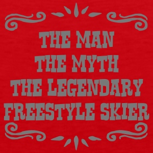 heliskier the man myth legendary legend premium ho - Men's Premium Tank Top