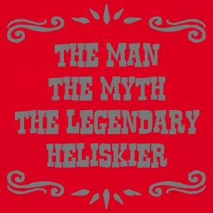 jet skier the man myth legendary legend premium ho - Men's T-Shirt