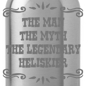 jet skier the man myth legendary legend premium ho - Water Bottle