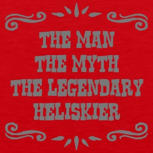 jet skier the man myth legendary legend premium ho - Men's Premium Tank Top