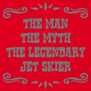 jetskier the man myth legendary legend premium hoo - Men's T-Shirt
