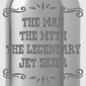 jetskier the man myth legendary legend premium hoo - Water Bottle
