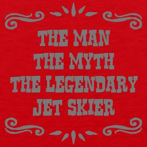 jetskier the man myth legendary legend premium hoo - Men's Premium Tank Top