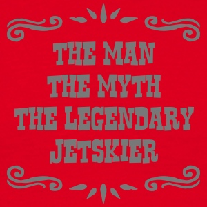 ski instructor the man myth legendary le premium h - Men's T-Shirt