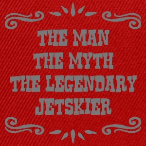 ski instructor the man myth legendary le premium h - Snapback Cap