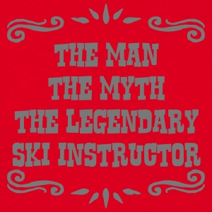 skier the man myth legendary legend premium hoodie - Men's T-Shirt