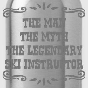 skier the man myth legendary legend premium hoodie - Water Bottle