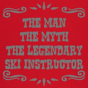 skier the man myth legendary legend premium hoodie - Baby Long Sleeve T-Shirt