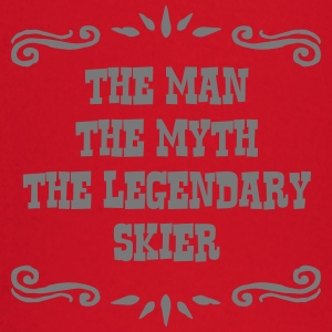 skiing instructor the man myth legendary premium h - Baby Long Sleeve T-Shirt