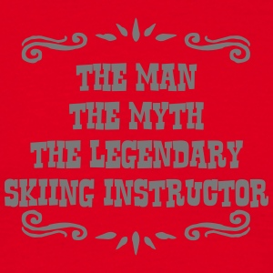 skimmer the man myth legendary legend premium hood - Men's T-Shirt