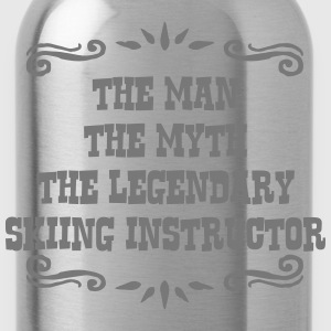 skimmer the man myth legendary legend premium hood - Water Bottle