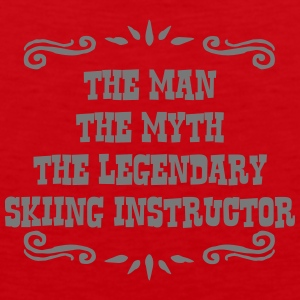 skimmer the man myth legendary legend premium hood - Men's Premium Tank Top