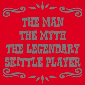 telemark skier the man myth legendary le premium h - Men's T-Shirt