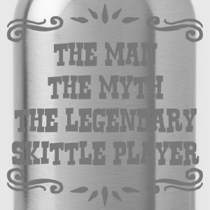 telemark skier the man myth legendary le premium h - Water Bottle