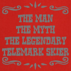 waterskier the man myth legendary legend premium h - Cooking Apron