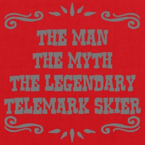 waterskier the man myth legendary legend premium h - Tote Bag