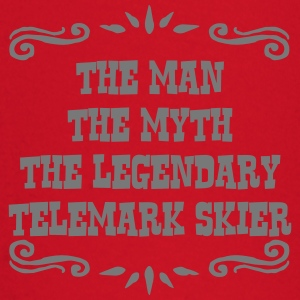 waterskier the man myth legendary legend premium h - Baby Long Sleeve T-Shirt
