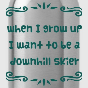 retired freestyle skier premium hoodie - Water Bottle