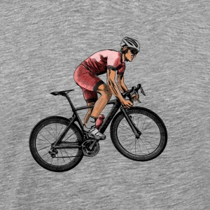 racing bicycle Manches longues - T-shirt Premium Homme