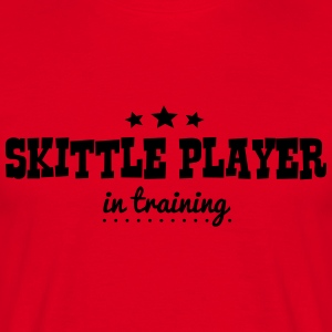 skittle player when i grow up i want to  premium h - Men's T-Shirt