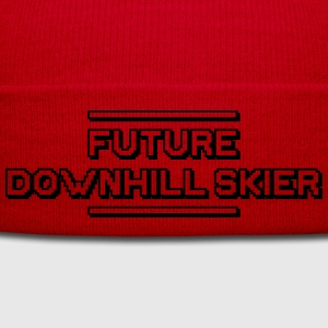 future freestyle skier premium hoodie - Winter Hat