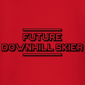 future freestyle skier premium hoodie - Baby Long Sleeve T-Shirt