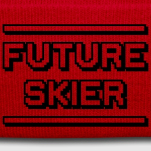future skiing instructor premium hoodie - Winter Hat