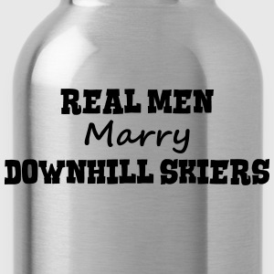 freestyle skiers real men marry groom st premium h - Water Bottle