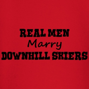 freestyle skiers real men marry groom st premium h - Baby Long Sleeve T-Shirt