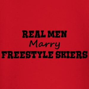 heliskiers real men marry groom stag wed premium h - Baby Long Sleeve T-Shirt