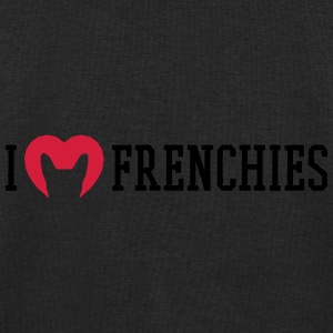 I love Frenchies Underwear - Men's Sweatshirt by Stanley & Stella