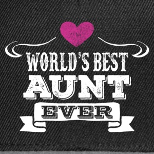 World's Best Aunt Ever T-Shirts - Snapback Cap