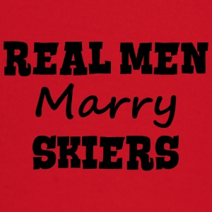 skiing instructors real men marry groom  premium h - Baby Long Sleeve T-Shirt