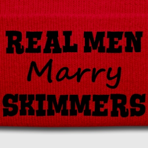 skittle players real men marry groom sta premium h - Winter Hat