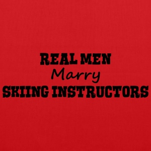 skimmers real men marry groom stag weddi premium h - Tote Bag