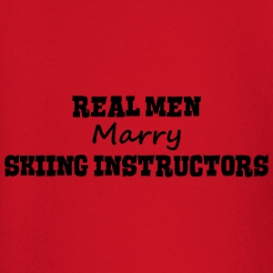 skimmers real men marry groom stag weddi premium h - Baby Long Sleeve T-Shirt