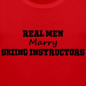 skimmers real men marry groom stag weddi premium h - Men's Premium Tank Top