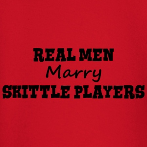 telemark skiers real men marry groom sta premium h - Baby Long Sleeve T-Shirt
