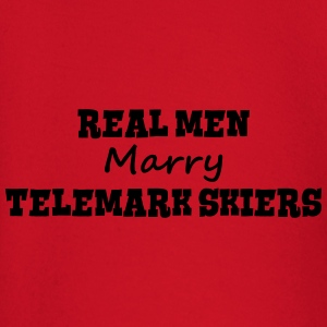 waterskiers real men marry groom stag we premium h - Baby Long Sleeve T-Shirt