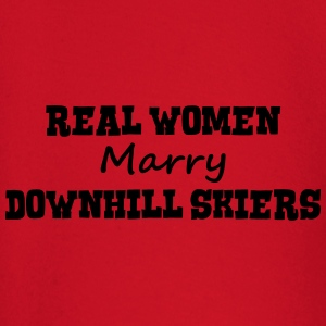 freestyle skiers real women marry bride  premium h - Baby Long Sleeve T-Shirt