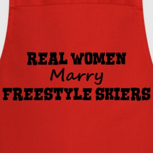 heliskiers real women marry bride hen we premium h - Cooking Apron