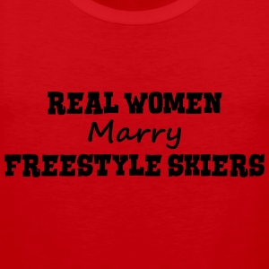 heliskiers real women marry bride hen we premium h - Men's Premium Tank Top