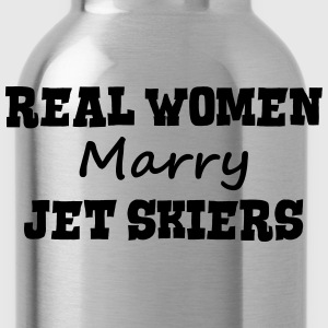 jetskiers real women marry bride hen wed premium h - Water Bottle